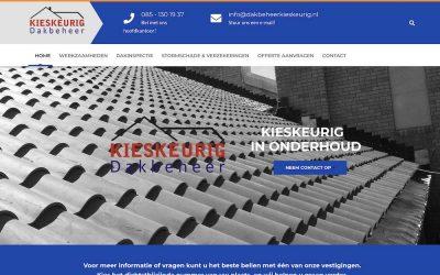 Website Dakbeheer Kieskeurig online