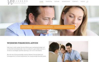 Website Wijssens Financieel Advies live