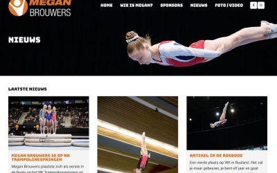 Website gesponsord aan Megan Brouwers uit Den Bosch
