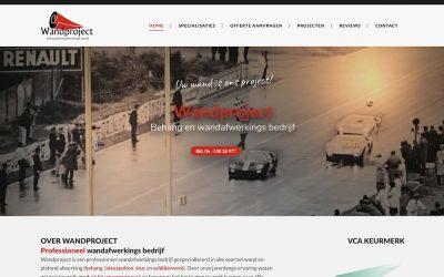 Nieuwe site voor Wandproject