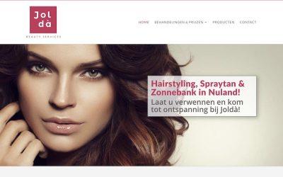 Site Joldà Beauty Services uit Nuland online