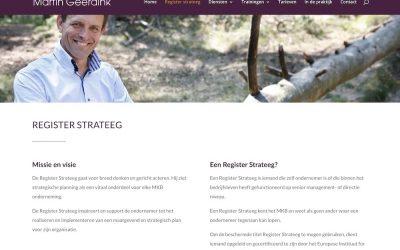 Nieuwe site voor Martin Geerdink