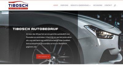 Nieuwe site voor Tibosch Autobedrijf