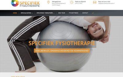 Nieuwe site voor Specifiek Fysiotherapie