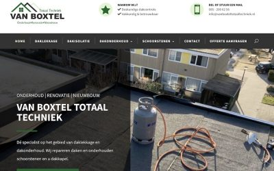 Van Boxtel Totaal Techniek online