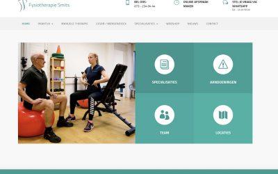 Nieuwe site Fysiotherapie Smits is online!