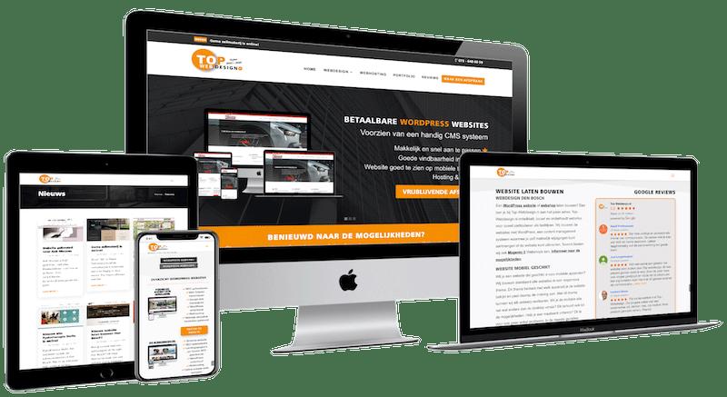 Nieuwe website Top-Webdesign.nl