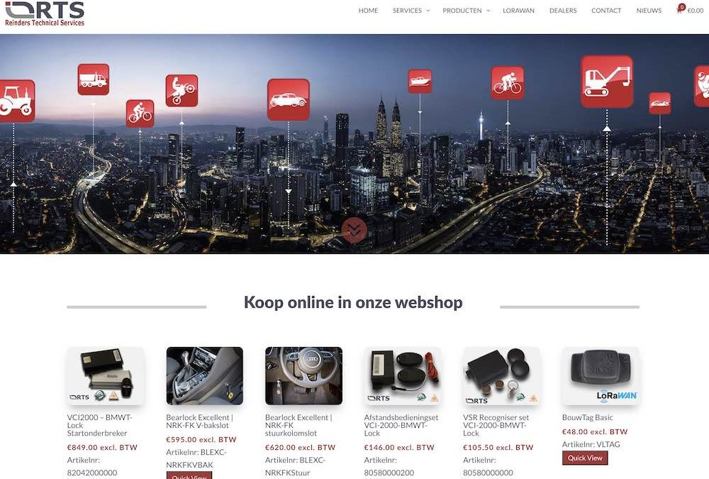 Webshop laten bouwen