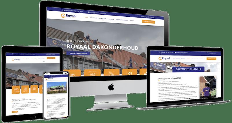 Webdesign Romalen, Website transport