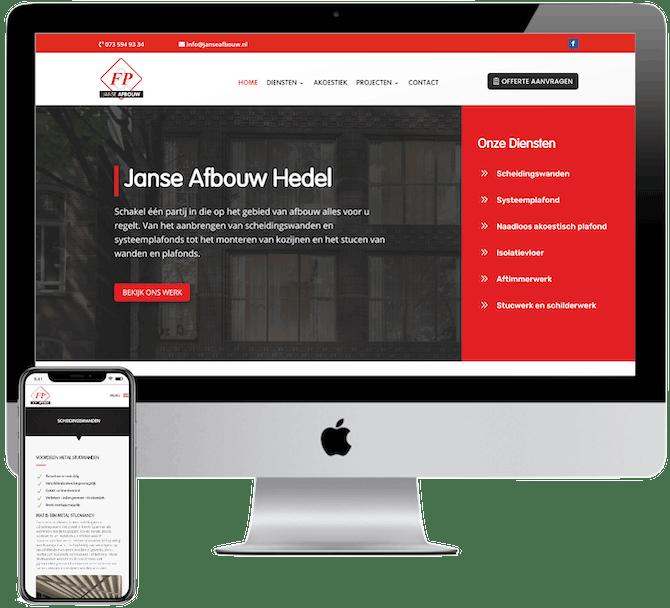 Website laten maken Hedel, WordPress website