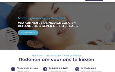 Website voor Mondhygienepraktijk Schijndel