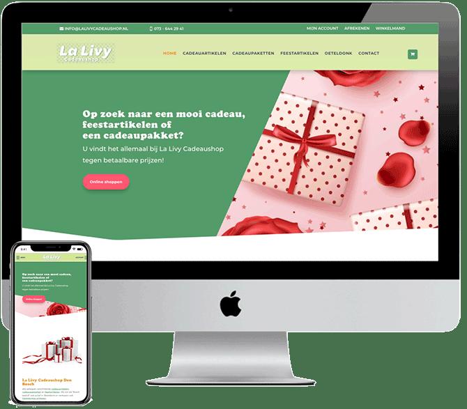 Wordpress webshop, Top-Webdesign