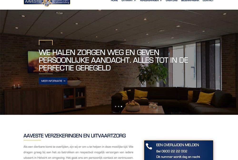 Website en plugin ontwikkeld voor Aaveste