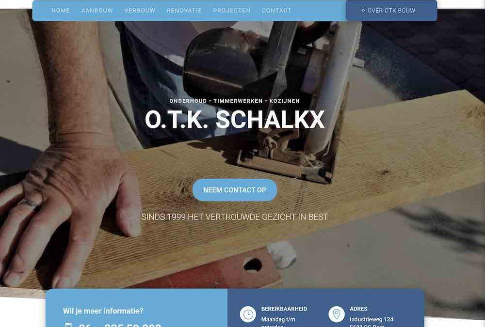 Website Ontworpen voor O.T.K Schalkx